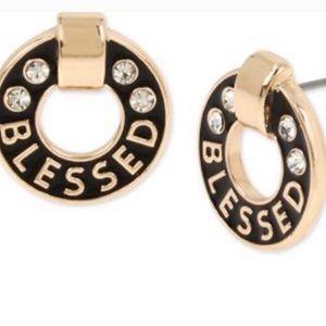 BCBG Generation Logo Stud Earrings